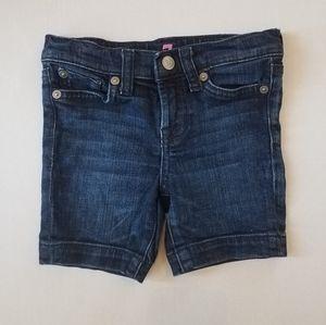Girls denim shorts, 7 for all mankind, 3T